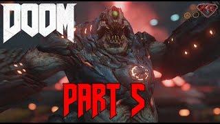 "DOOM 4 Gameplay Walkthrough Part 5 ""Argent Tower"" 1080p 60fps|Let"