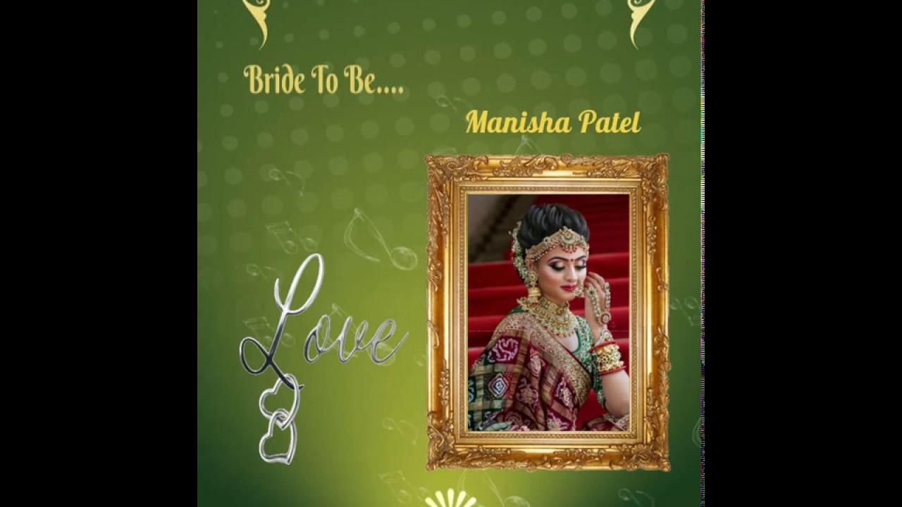 download 37 wedding invitation video maker app free