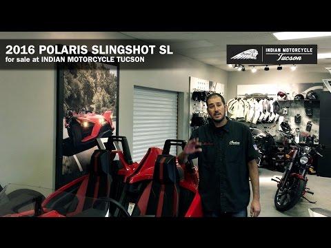 2016 Polaris Slingshot SL For Sale in Tucson AZ 520-290-7390 | Indian Motorcycle Tucson