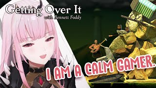 【GETTING OVER IT】Calming Gameplay with Grim Reaper Calliope Mori #hololiveEnglish #holoMyth