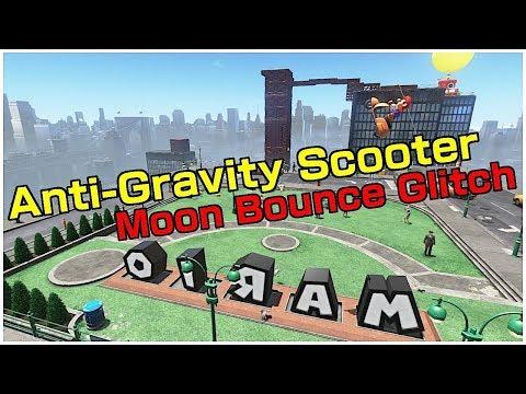 MOON BOUNCE GLITCH - ANTI GRAVITY SCOOTER | Super Mario Odyssey