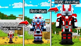 LIFE OF ANT MAN IN MINECRAFT!