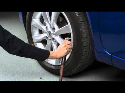 2014 NISSAN Versa Note - Tire Pressure Monitoring System With Easy Fill Tire Alert