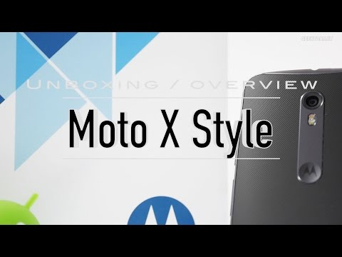 Moto X Style (Dual Sim) Indian Retail Unit Unboxing & Overview
