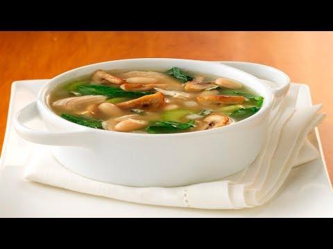 суп из грибов белых рецепт пошагово в