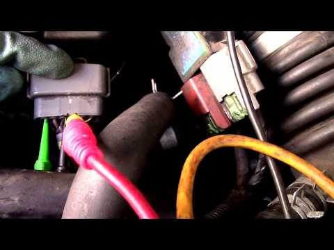 01 Nissan Frontier intermitently lack of power when hot part 1