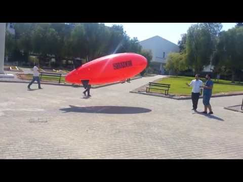 """SHADOW"" Solar Powered RC Zeppelin (UAV) - EASTERN MEDITERRANEAN UNIVERSITY"