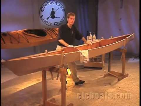 Part 5 - Building a Stitch-and-Glue CLC Kayak - YouTube
