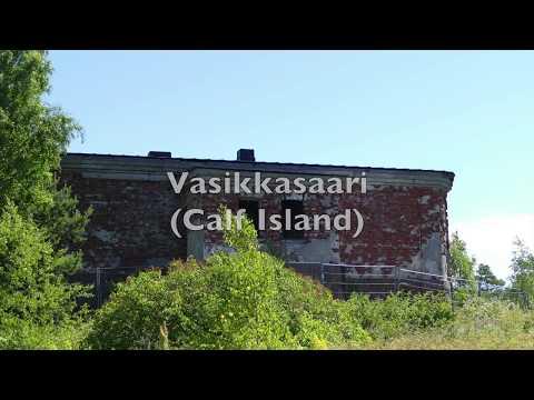 Vasikkasaari (Calf Island) Urbex and history