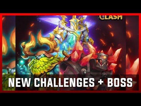 New Challenges + Boss - Januar Update Sneak Peek | Castle Clash