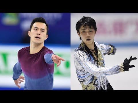 Patrick Chan, Yuzuru Hanyu Free Programs at World Team Trophy