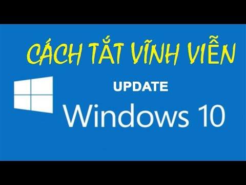 Tắt cập nhật windows 10