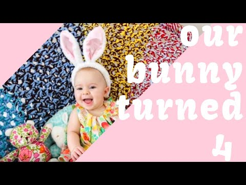 BUNNY THEMED PARTY | Q's 4TH BIRTHDAY PARTY