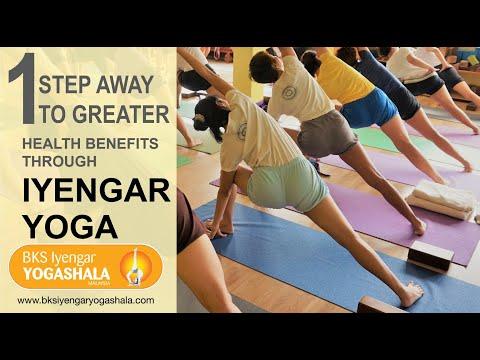[Yoga Centre in Kuala Lumpur] 1 Step Away to Greater Health Benefits Through Iyengar Yoga