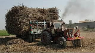 dangerous tractor stunt, tractor fail, gadi chalty chalty remp par rok gai, sugercan load trailer