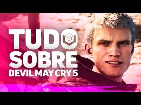 DEVIL MAY CRY 5 E AS 3 FACES DA PANCADARIA | Tudo que você precisa saber thumbnail
