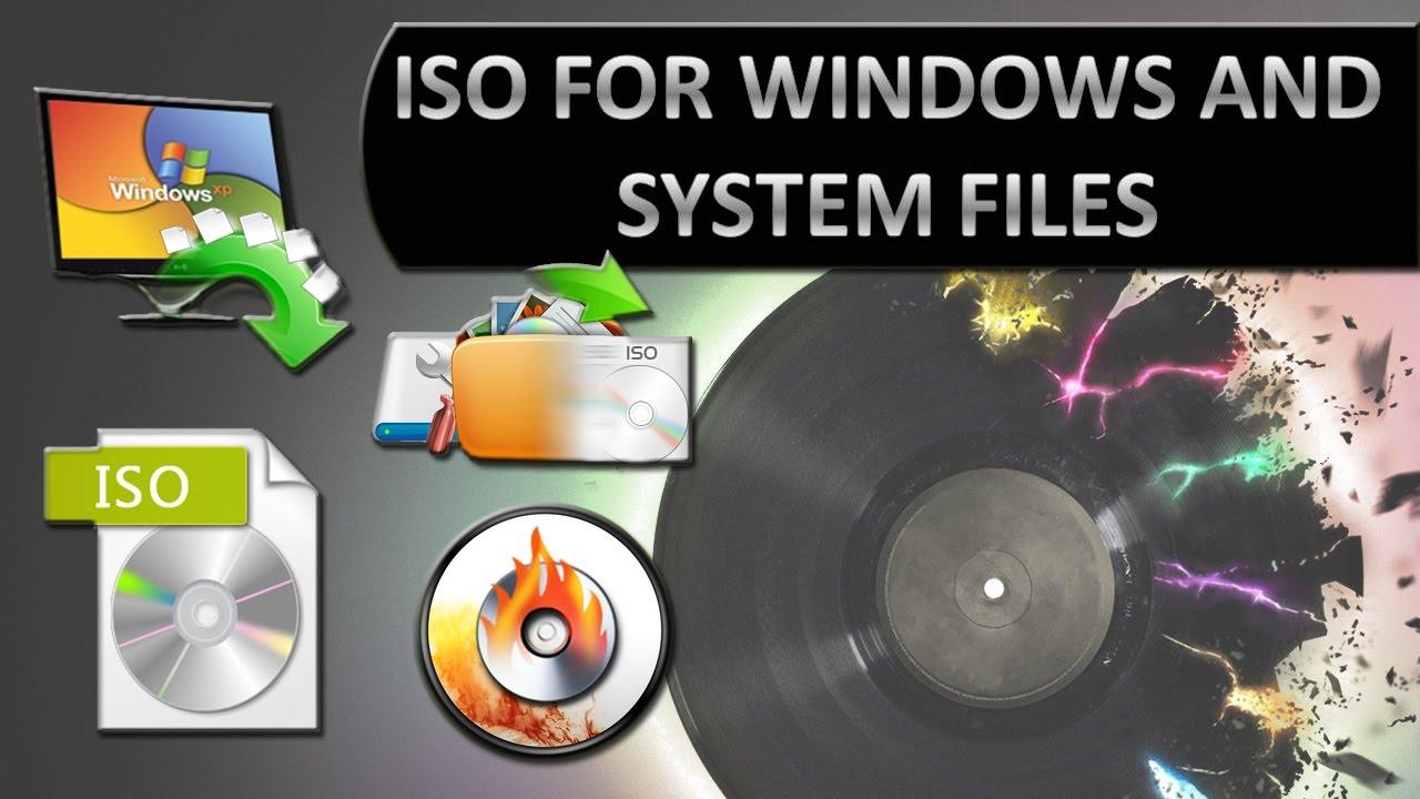 create iso file windows 10