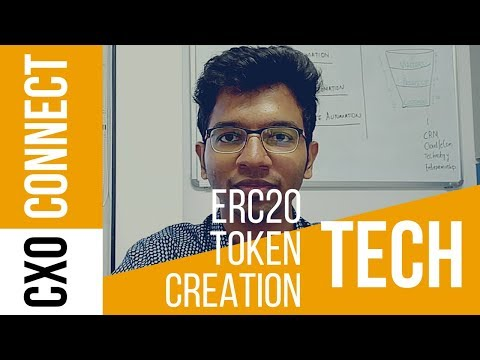 Blockchain ERC20 Ethereum Token - Create & Launch Tutorial (Step by Step Guide)
