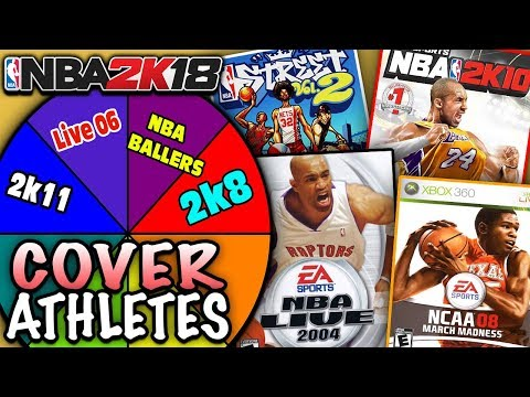 SPIN THE WHEEL OF VIDEO GAME COVERS! NBA 2K18 SQUAD BUILDER