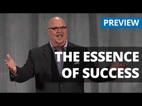 Essence of Success - Motivational Personal Professional Development Video Preview - Seminars on DVD