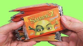 Opening 36 Shrek 2 Booster Packs!