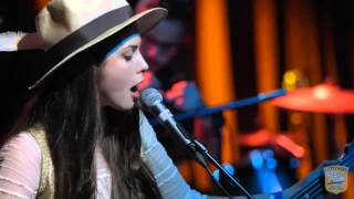 Sean Lennon & Charlotte Kemp Muhl perform live in Brooklyn, NY. The...