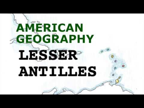 America Geography Songs, Lesser Antilles