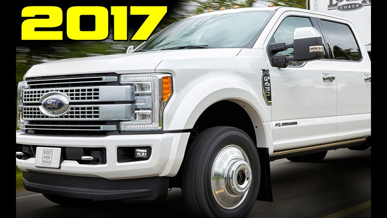 Revealed All Aluminum 2017 Ford F350 Super Duty