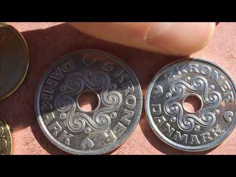 Denmark Danish Krone Coin Collection - Complete Set