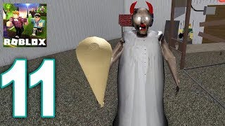Roblox Granny - NEW Granny - Horned House Gameplay Walkthrough Part 11 (IOS, ANDROID)