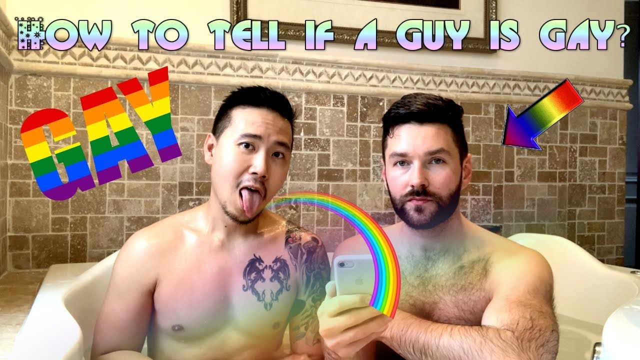 Tell if a guy is gay