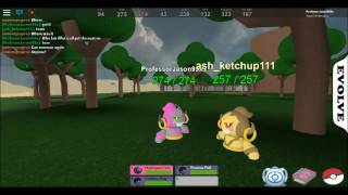 ROBLOX POKEMON FIGHTERS EX!