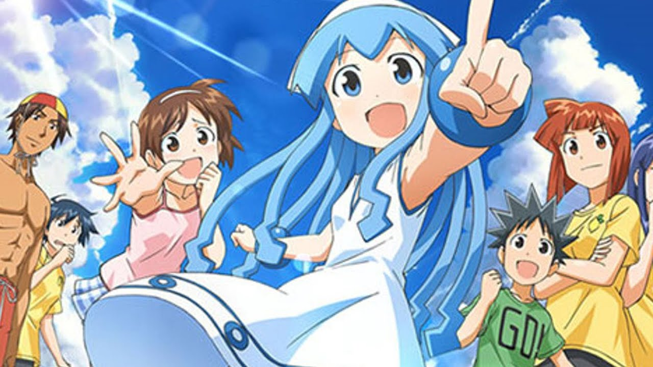 Cute Fairy Girl Wallpapers Anime Review Squid Girl Child Friendly Comedy