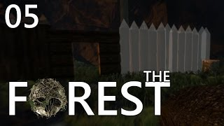 THE FOREST #05 - DER SCHUTZWALL ★ Let
