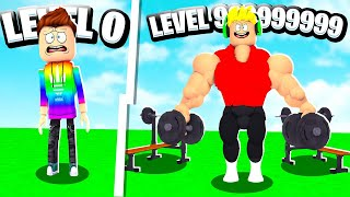 Father VS Son 999,999,999 ROBLOX GYM TYCOON