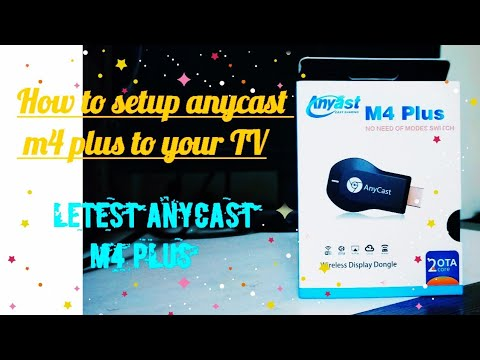 Anycast m4 plus setup detail procedures #miracast and #airplay mode