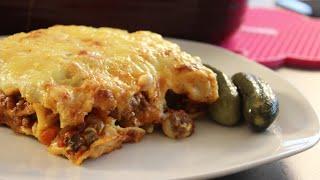 leckere Lasagne nach Sallys Art / Nudelblätter ganz einfach selber machen
