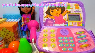 Nickelodeon Dora The Explorer Shopping Adventure Cash Register Playset - itsplaytime612