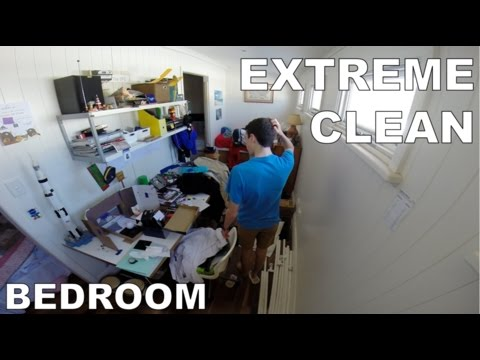 GoPro:  EXTREME CLEAN - Bedroom
