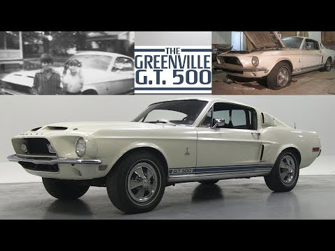 ORIGINAL 1968 Ford Shelby GT500 (SOLD)