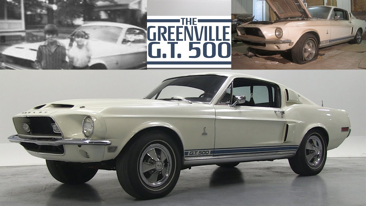 Original 1968 ford shelby gt500 sold