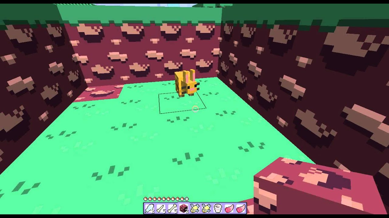 Minecraft Drzharks Mo Creatures How To Breed Bunnies Youtube