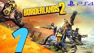 Borderlands 2 PS4 - 60fps Walkthrough Part 1 - Prologue