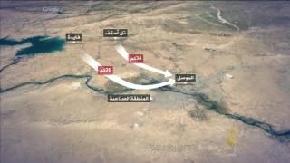 محاور المعارك في الموصل