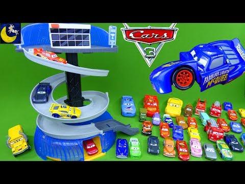 Disney Cars 3 Toys Florida Speedway Spiral Playset Lightning Mcqueen Cruz Ramirez Jackson Storm Toys