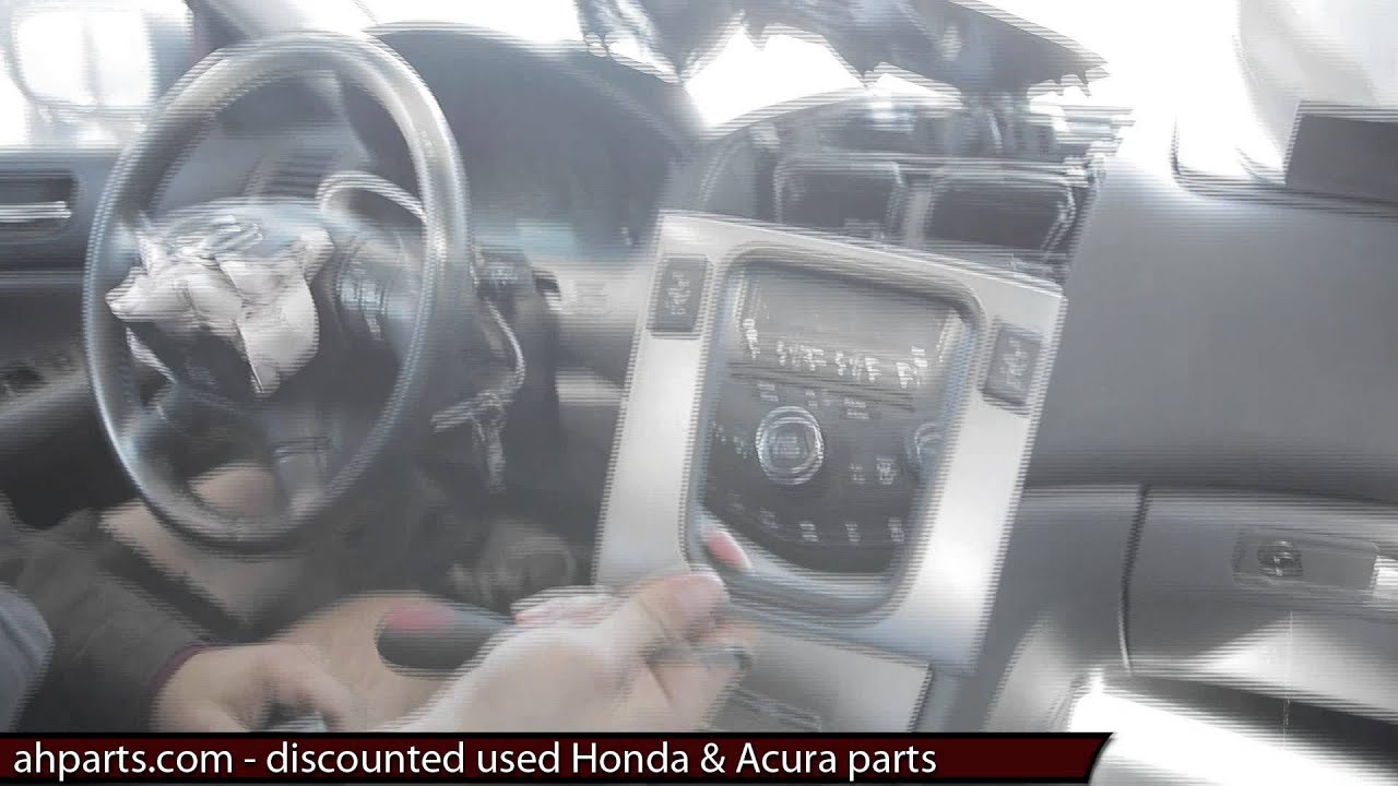 How To Replacement 2003 2004 2005 2006 2007 Honda Accord Radio Odyssey Wiring Diagram Stereo Cd Player Replace Install Fix