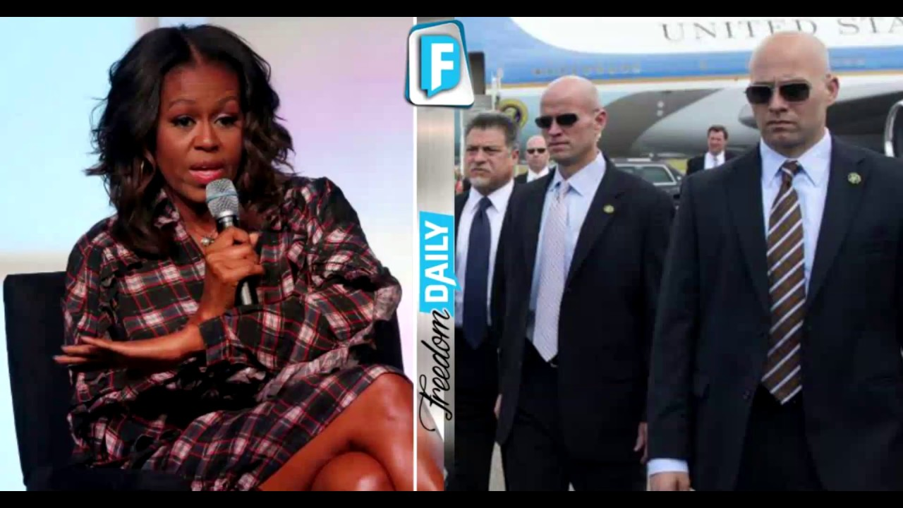 10 Mths After Leaving WH, 'Queen' Michelle Makes Disturbing Claim About What Secret Service Did To H