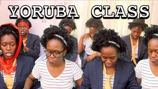 Different Students in a YORUBA class