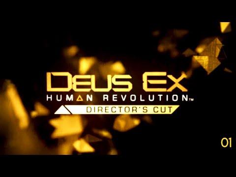 Deus Ex  Human Revolution: Director's Cut (Gameplay 01) |