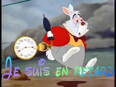 Alice au pays des merveilles en retard youtube - Montre lapin alice au pays des merveilles ...